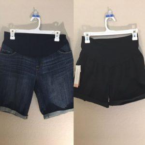 Buy 9 XS Maternity Clothes Shorts Tanks Tees Dresses Liz Lange Maternity Lot