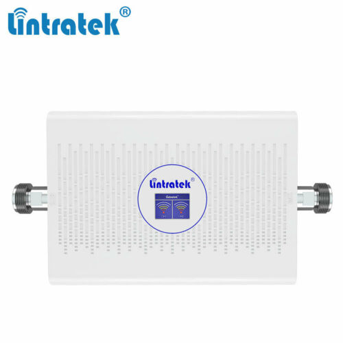 Buy 900/1800Mhz 70dB Portable ALC Amplifier Signal Booster Repeater For Cell Phone