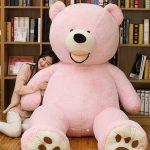 Buy 93'' Teddy Bear Plush Toys 8 Foot Huge Large Jumbo Stuffed Animal Pink Doll Gift