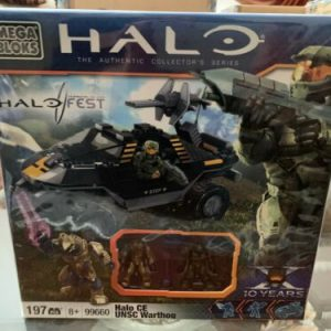 Buy 99660 MEGA BLOKS AUTHENTIC HALOFEST HALO CE UNSC WARTHOG - Factory Sealed - MINT