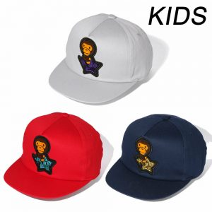 Buy A BATHING APE Goods BAPE KIDS BABY MILO STA EMBLEM CAP 3colors From Japan New