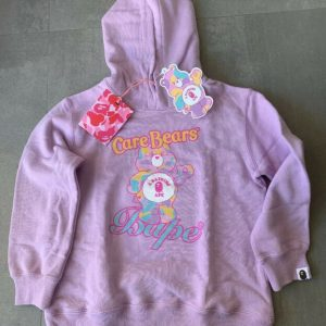 "Buy A Bathing Ape ""Care Bears"" NEW Release Hoodie - Kid 3-4 Years Old Size F"