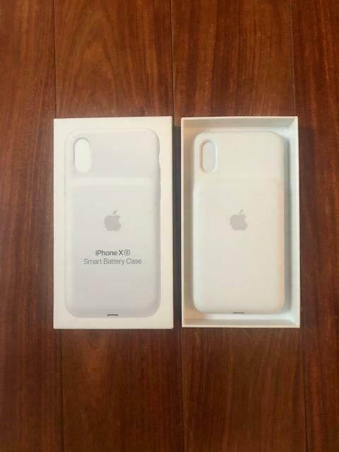 Buy APPLE IPHONE X SMART BATTERY CASE WHITE NEW NWT AUTHENTIC IN BOX $150 VALUE!!!!!