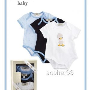 Buy ARMANI BABY INFANT BOYS' THREE PIECE BODYSUIT GIFT SET SIZE 9 MONTHS NIB $180