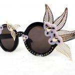 Buy AV Robertson Women's Sunglasses AVR/1/4 Fancy Floral Black 140 JAPAN - New!