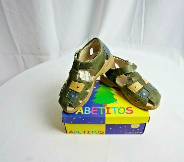 Buy Abetitos Leather Picaso Tirol Sandals for Kids - Different Sizes Available - NEW