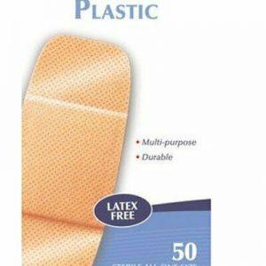 Buy Adhesive Strip Americanâ® White Cross 2 X 4 Inch Plastic Rectangle Tan Sterile(1