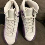 Buy Air Jordan 12 Retro Kids Sz 6.5y Sz 8 Women's # 510815-001 Purple.