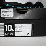 Buy Air Jordan Retro 10 X Powder Blue Black White Sneakers Toddler's Size GP 10C New