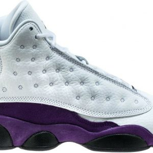 "Buy Air Jordan Retro 13 ""Lakers"" White/Black-Court Purple (GS) (884129 105)"