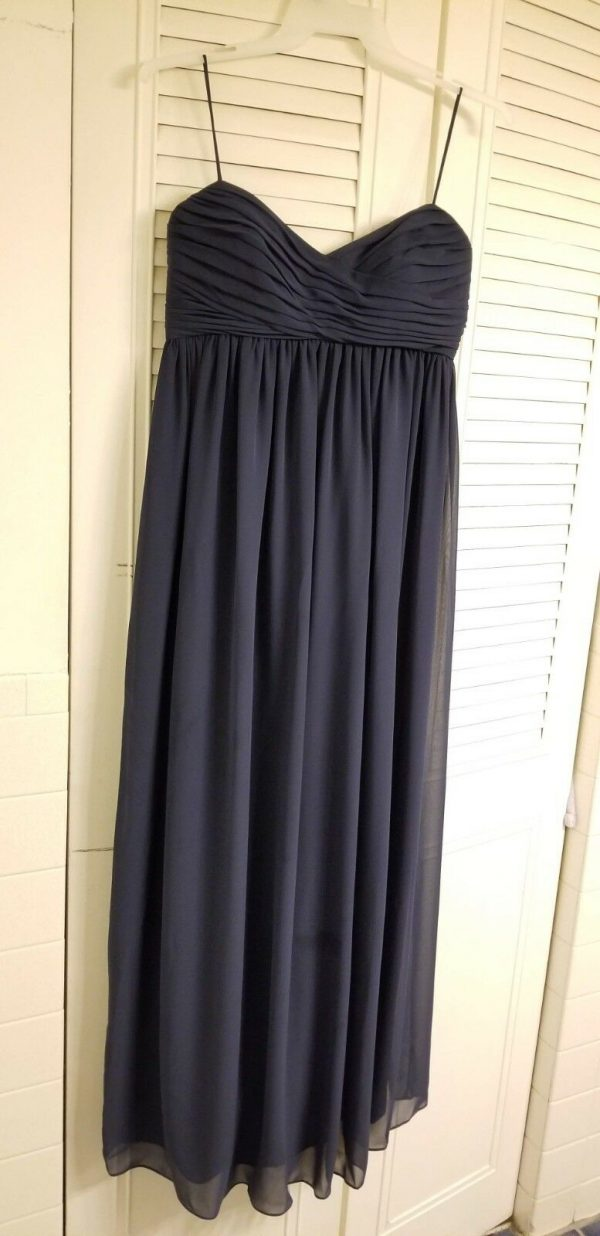 Buy Amsale Maternity Bridesmaid dress - French Blue, never worn