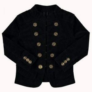 Buy Angel's Face Black Military Inspired Jacket
