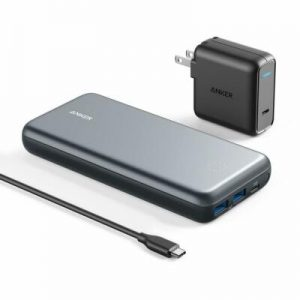 Buy Anker PowerCore+ 19000 mAh Power Bank + PD USB-C Wall Charger Combo Charger Set