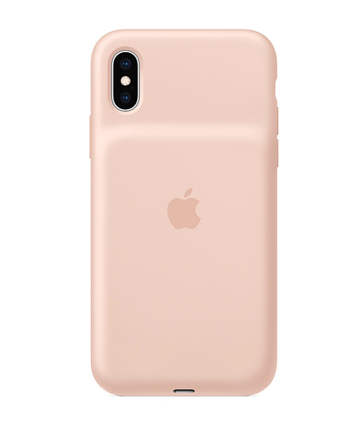 Buy Apple Smart Battery Case for iPhone X(s) - Pink Sand NEW and UNOPENED