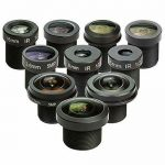 "Buy Arducam M12 lens set, Raspberry Pi camera lens (1/4 "") and Arduino, telephoto, m"