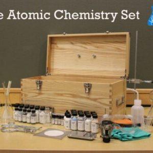 Buy Atomic Chemistry Set   Chemistry Set / Glassware / Chemicals / Lab Equipment