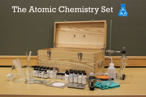 Buy Atomic Chemistry Set | Chemistry Set / Glassware / Chemicals / Lab Equipment