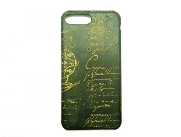 Buy Authentic Berluti iPhone Case 7Plus 8Plus Dark Green 17050531KT