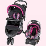 Buy BABY STROLLER + CAR SEAT Combo Walking Girl Toddler Travel System Infant Safety