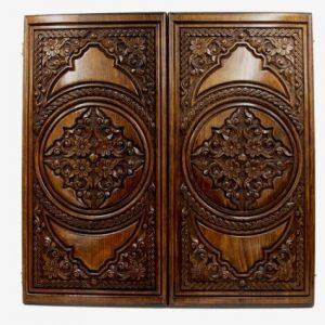 Buy BACKGAMMON big BOARD GAME Armenia Wood Nardi Nardy flower checkers chess carved