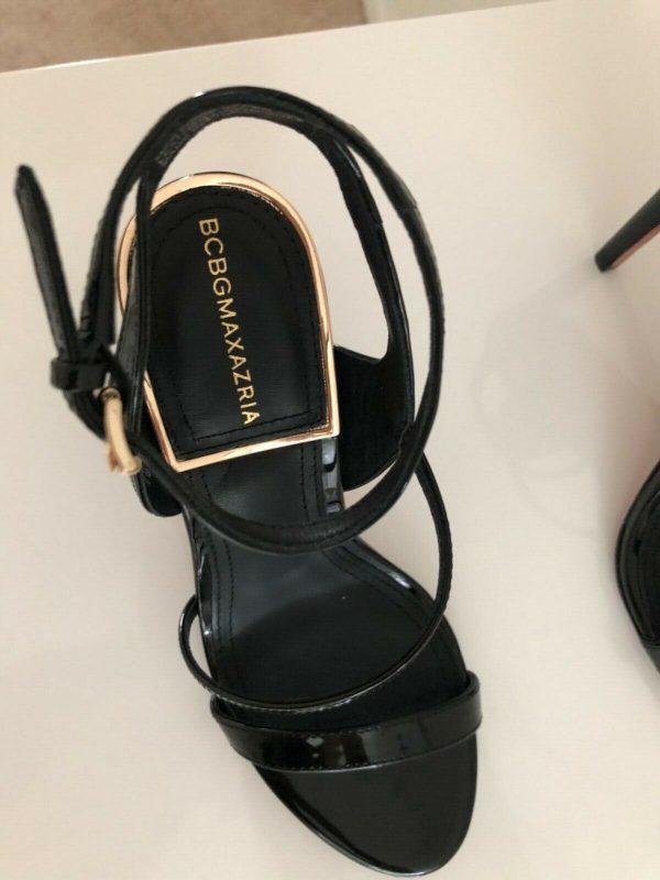 Buy BCBG. Amilia  patent leather sandal size 6