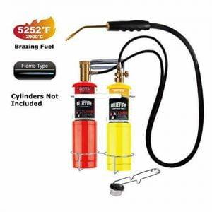Buy BLUEFIRE Oxygen MAPP/Propane Cutting Torch kit, Free Accessory of Flint