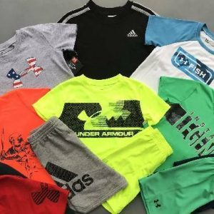 Buy BOY'S SIZE 3T UNDER ARMOUR/ADIDAS LOT OF 12 ITEMS SHIRTS/SHORTS OUTFITS NWT