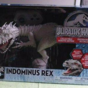 Buy BRAND NEW ZOOMER DINO Jurassic World Indominus Rex Robot NIB Spin Master 2015 JP