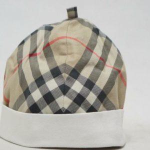 Buy BURBERRY BABY CAP WHITE/HOUSE CHECK  BUCKET HAT  ( 46 CM )