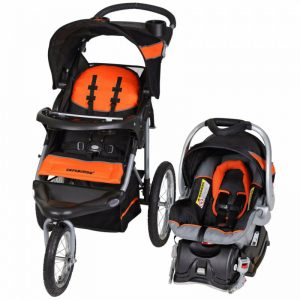 Buy Baby Expedition Jogger Travel System/ Infant Car Seat Combo Orange Lightweight