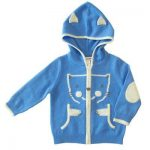 Buy Baby Hoodie Top with matching Pants Pure Cashmere blue