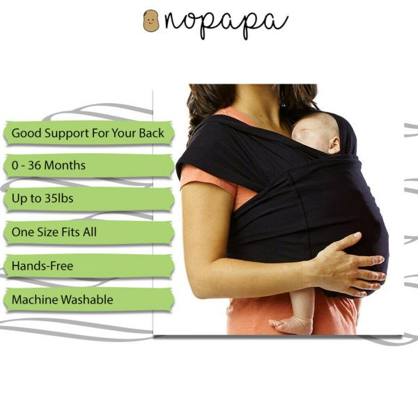 Buy Baby Wrap Child Carrier Slings The Original Child and Newborn Wrap, for Infants