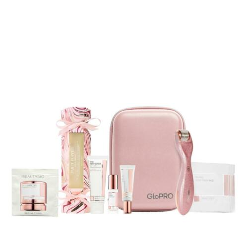 Buy BeautyBio GloPRO TOOL & FACE Attachment, SKINCARE,ORGANIZER, Rose Gold Glitter