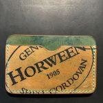 Buy Benjamin Bott Shell Cordovan Waxwing 3 pocket Card Holder