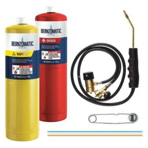 Buy Bernzomatic WK5500OX Cutting Welding Brazing Kit (Oxygen + Mapp + Torch )