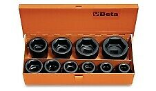 Buy Beta 728 /C10 Set Of 10 Impact Sockets 3/4 Drive