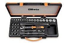 Buy Beta 910 B/C29 Set Of 17 Sockets 12 Socket Drivers And 5 Accessories 3/8 Drive