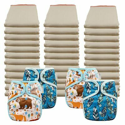 Buy Better Fit Economy Prefold Diaper Packages with OsoCozy One Sized Covers