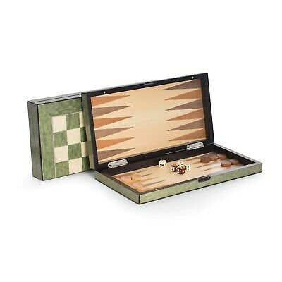 Buy Bey Berk 'Felix' Brown Wood Chess, Checkers, and Backgammon Olive Green