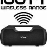 Buy Böhm Impact Plus Wireless Bluetooth Speaker Water Resistant Ipx4 40W Premium Hd