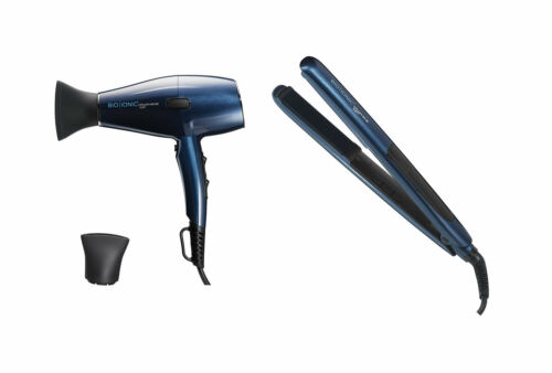 "Buy Bio Ionic Graphene MX Professional Hair Dryer & 1"" Hair Styling Iron Set"