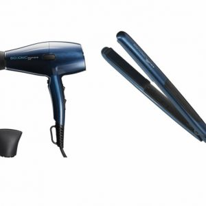 "Buy Bio Ionic Graphene MX Professional Hair Dryer & 1"" Hair Styling Iron Set"