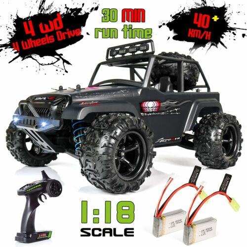 Buy Black RC Cars Off Road Electric Remote Control Powered Buggy Gas Toys 40KMH Gift