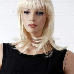 Buy Blond synthetic long synthetic hair w/  layers wig on Ivy and Eve (#85)