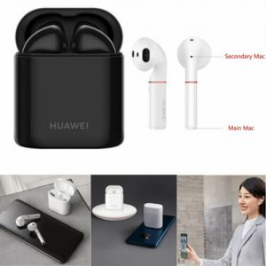 Buy Bluetooth 5.0 Wireless Earphone Earbud Headphone For Huawei FreeBuds 2 / 2 Pro