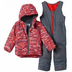 Buy Brand New Columbia OUTGROWN Printed Jacket & Bib Snow Pants XXS/2TP YOUTH/INFANT