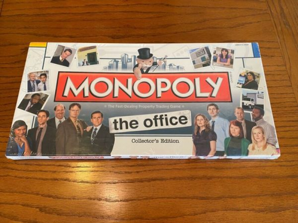 Buy Brand New Monopoly The Office Collectors Edition Board Game (Factory Sealed)