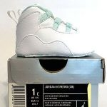 Buy Brand New Nike Air Jordan Retro 10 (CB) Crib Ice Green White X 1c
