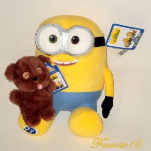 Buy Build a Bear Minions Bob 14in. with 6in. Teddy Tim Accessory Stuffed Plush Toys