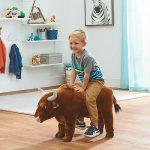 Buy Bull Ride-On Oversized Stuffed Animal - 32in.